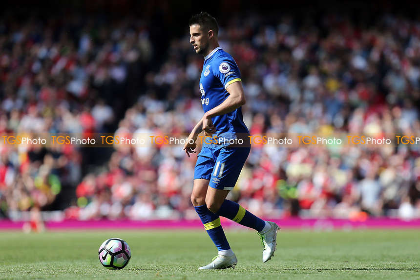Kevin Mirallas of Everton during Arsenal vs Everton, Premier League Football at the Emirates Stadium on 21st May 2017