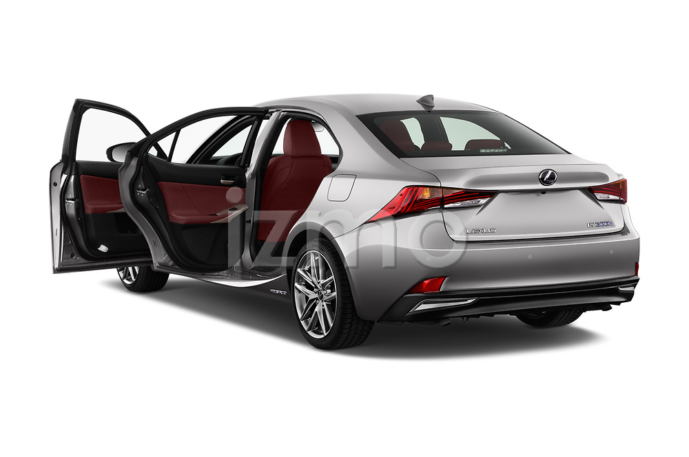 Car images of 2017 Lexus IS F-Sport-Line 4 Door Sedan Doors
