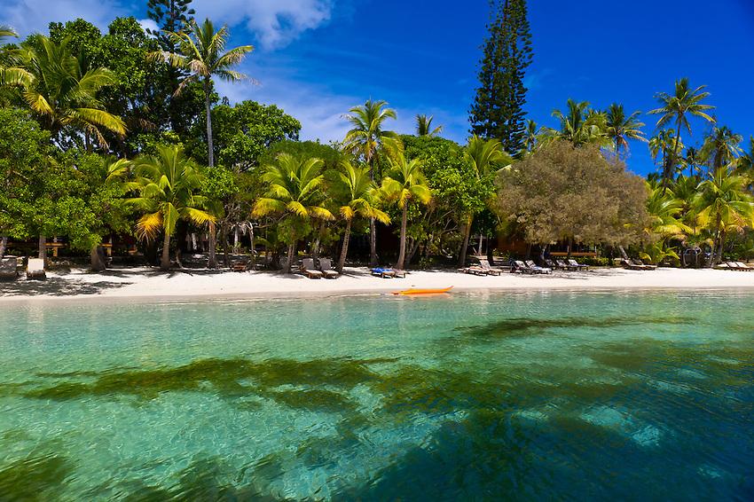 Oure Tera Beach Resort, Bay of Kanumera, Ile des Pins (Isle of Pines), New Caledonia
