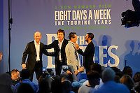 LONDON, ENGLAND - SEPTEMBER 15:   Ron Howard, Sir Paul McCartney, Brian Grazer and Ringo Starr attending the 'The Beatles: Eight Days A Week - The Touring Years'  World Premiere at Odeon Cinema, Leicester Square on September 15, 2016 in London, England.<br /> CAP/MAR<br /> &copy;MAR/Capital Pictures /MediaPunch ***NORTH AND SOUTH AMERICAS ONLY***