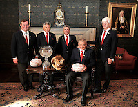 Lions 2013.  Lions 2013. 4.9.2012. Lions 2013.  Warren Gatland, who has been appointed head coach of the British and Irish Lions for the tour to Australia in 2013 poses at Ironmonger's Hall on September 4, 2012 in London, England.