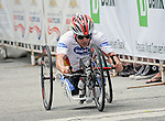 May 28, 2012: Scott McNeice races to a Gold Medal in the 2012 U.S. Handcycling Criterium National Championships, Greenville, SC.