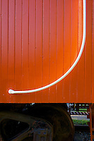 Canadian National Railway 1920s Caboose 76904 Hand Rail, CN Rail Station Fort Langley B.C.