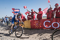 Zdenek Stybar (CZE/Quick Step Floors) at the Carrefour de l'Arbre sector<br /> <br /> 115th Paris-Roubaix 2017 (1.UWT)<br /> One Day Race: Compiègne › Roubaix (257km)