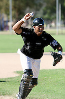 Wilin Rosario / Colorado Rockies spring training 2008..Photo by:  Bill Mitchell/Four Seam Images
