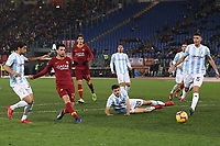 Javier Pastore of AS Roma scores fourth goal for his side <br /> Roma 14-01-2019 Stadio Olimpico<br /> Football Calcio Coppa Italia 2018/2019 Round of 16  <br /> AS Roma - Virtus Entella<br /> Foto Gino Mancini / Insidefoto