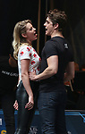 Taylor Louderman and Kyle Selig performing at the United Airlines Presents: #StarsInTheAlley Produced By The Broadway League on June 1, 2018 in New York City.