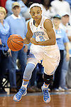 11 November 2013: North Carolina's Latifah Coleman. The University of North Carolina Tar Heels played the University of Tennessee Lady Vols in an NCAA Division I women's basketball game at Carmichael Arena in Chapel Hill, North Carolina. Tennessee won the game 81-65.