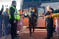 Wayne Routledge of Swansea City arrives prior to the game during the Sky Bet Championship match between Swansea City and Cardiff City at the Liberty Stadium, Swansea, Wales, UK. Sunday 27 October 2019