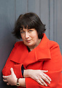 Joanne Harris , novelist and writer at Oxford Literary Festival  at Christchurch College, Oxford  2014 CREDIT Geraint Lewis