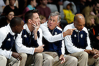 July 12, 2016: MIKE MONTGOMERY coach of the PAC-12 reacts during game 1 of the Australian Boomers Farewell Series between the Australian Boomers and the American PAC-12 All-Stars at Hisense Arena in Melbourne, Australia. Sydney Low/AsteriskImages.com