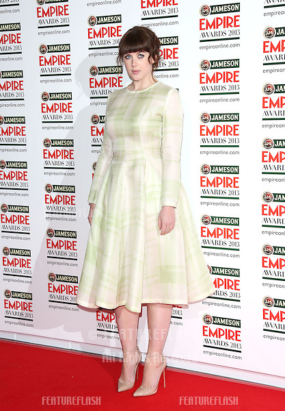 Alexandra Roach arrives for the Empire Film Awards 2013 at the Grosvenor House Hotel, London. 24/03/2013 Picture by: Henry Harris / Featureflash