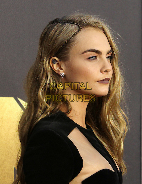 Burbank, CA - April 09 Cara Delevingne Attending 25th Annual MTV Movie Awards at The Warner Brothers Studios On April 09, 2016. <br /> CAP/ADM/FS<br /> &copy;FS/ADM/Capital Pictures