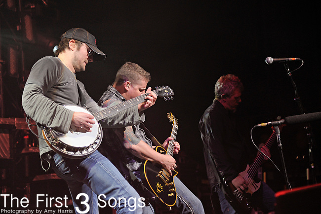 Eric Church performs at Riverbend Music Center in Cincinnati, Ohio on September 29, 2011.