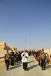Jordan Valley, Baptism of the Lord procession in Qasr al Yahud by the Jordan river