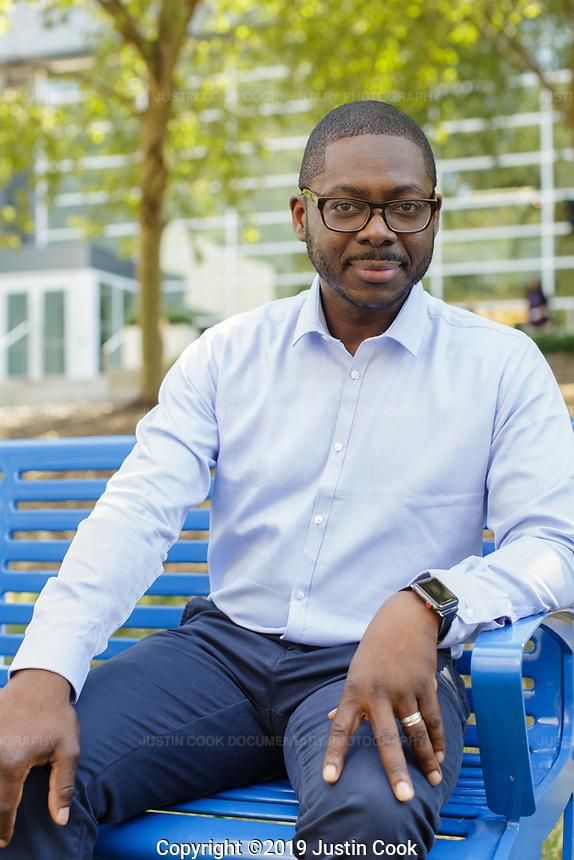 Portraits at Duke University's Fuqua School of Business in Durham, North Carolina, Wednesday, September 25, 2019  (Justin Cook)