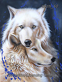 Sandi, REALISTIC ANIMALS, REALISTISCHE TIERE, ANIMALES REALISTICOS, paintings+++++,USSN60,#a#, EVERYDAY ,wolf,wolves ,puzzles