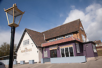 The newly refurbished Pear Tree pub, (formerly the Fairway) in Keyworth
