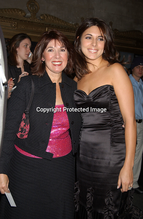 "..Jamie-Lynn Discala  and mom Connie ..at the Broadway opening of "" The Boy From Oz""  on October 16,2003 in New York City at the Imperial theatre...Photo By Robin Platzer, Twin Images"
