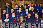 Students from Castleisland Boys NS who received their confirmation in St Stephens and Johns church Castleisland on Monday Front row l-r: Jack Roche, Daniel Kearney, Bishop Bill Murphy, Bart Drosz, Richard Coffey. Middle row Niall Durkin, Luke Lyons, Hugh Mulligan, Mark Reidy, PJ Moore. Back row Denis Griffin, Garrett O'Connell Fr Michale Moynihan, Darragh McSweeney and Timmy Nelligan