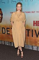 "10 January 2019 - Hollywood, California - Mamie Gummer. ""True Detective"" third season premiere held at Directors Guild of America. Photo Credit: Birdie Thompson/AdMedia"