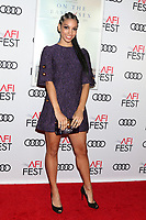 "LOS ANGELES - NOV 8:  Corinne Bishop, Corinne Foxx at the AFI FEST 2018 - Opening Gala  ""On The Basis Of Sex""  at the TCL Chinese Theater IMAX on November 8, 2018 in Los Angeles, CA"