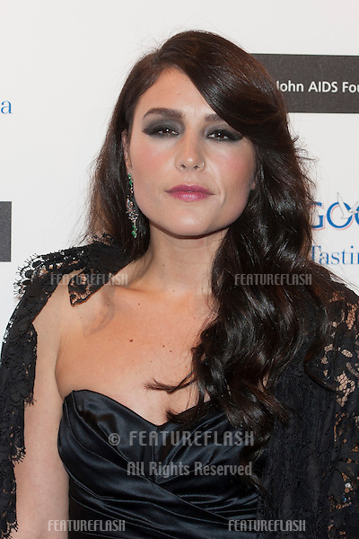 Jessie Ware arriving for the Grey Goose Ball 2012, Battersea Power Station, London. 10/11/2012 Picture by: Simon Burchell / Featureflash