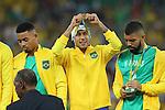 Neymar (BRA), <br /> AUGUST 20, 2016 - Football / Soccer : <br /> Men's Medal Ceremony <br /> at Maracana <br /> during the Rio 2016 Olympic Games in Rio de Janeiro, Brazil. <br /> (Photo by YUTAKA/AFLO SPORT)
