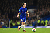 10th January 2018, Stamford Bridge, London, England; Carabao Cup football, semi final, 1st leg, Chelsea versus Arsenal; Cesar Azpilicueta of Chelsea