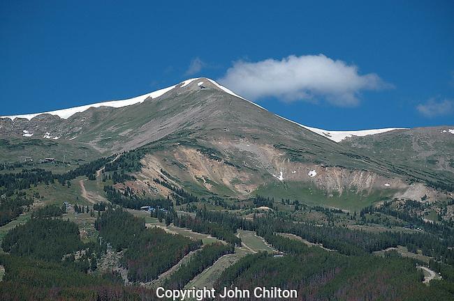 Photo of Breckenridge Ski Area, Colorado.