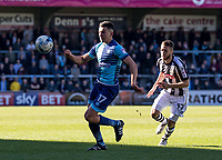 Luke O'Nien of Wycombe Wanderers during the Sky Bet League 2 match between Wycombe Wanderers and Notts County at Adams Park, High Wycombe, England on the 25th March 2017. Photo by Liam McAvoy.