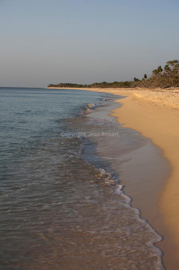 Beach on the  peninsula de Guanahacabibes (western point of Cuba).