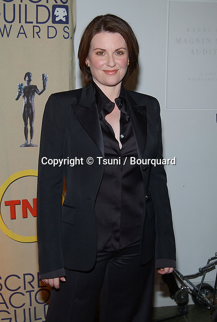 Megan Mullally at  the 9th Annual Screen Actors Guild Awards Nominations at the Skirball Center Auditorium in Los Angeles. January 28, 2003          -            MullallyMegan06A.jpg