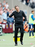 West Ham's Slaven Bilic celerates his sides second goal during the premier league match at the London Stadium, London. Picture date 23rd September 2017. Picture credit should read: David Klein/Sportimage