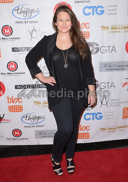 16 November - Hollywood, Ca - Lindsey Nelko. Arrivals for the World Choreography Awards held at The Montalban Theater. Photo Credit: Birdie Thompson/AdMedia