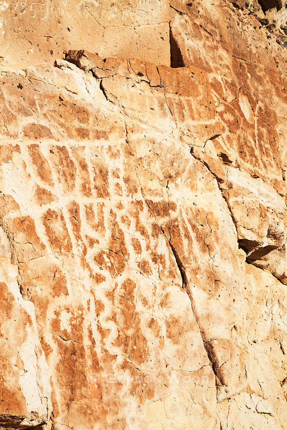 Petroglyphs along Emigrant Canyon Road