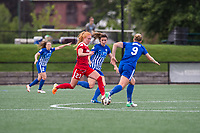 Boston, MA - Saturday July 01, 2017: Tori Huster, Morgan Andrews and Natasha Dowie during a regular season National Women's Soccer League (NWSL) match between the Boston Breakers and the Washington Spirit at Jordan Field.
