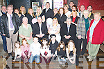 Congratulations - Kevin & Jacinta O'Connor from Boherbue celebrating the Christening of their daughter Rachel with family and friends in The Greyhound Bar on Sunday afternoon. .   Copyright Kerry's Eye 2008