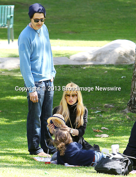 Pictured: Rachel Zoe, Skyler Berman, Rodger Berman, Kaius Jagger Berman<br /> <br /> <br /> Mandatory Credit &copy; ACLA/Broadimage<br /> Rachel Zoe and Rodger Berman take the kids to the Coldwater Canyon Park in Beverly Hills<br /> <br /> <br /> 4/3/14, Beverly Hills, California, United States of America<br /> <br /> Broadimage Newswire<br /> Los Angeles 1+  (310) 301-1027<br /> New York      1+  (646) 827-9134<br /> sales@broadimage.com<br /> http://www.broadimage.com