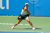 Washington, DC - August 4, 2019: Jessica Pegula (USA) gets ready to hit the ball during the Citi Open WTA Singles final at William H.G. FitzGerald Tennis Center in Washington, DC  August 4, 2019.  (Photo by Elliott Brown/Media Images International)