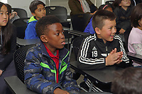 NEST+m 5th grade public school visit to NYU Physics and Chemistry departments May 2017