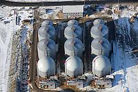 4415 / Biokraftwerk: EUROPA, DEUTSCHLAND, NIESDERSACHSEN, (EUROPE, GERMANY), 27.01.2007:Europa, Deutschland, Niedersachsen, Buchholz, Trelde, Guelle, Abfall, Stromerzeugung, Regenerative Energie, Biokraftwerk,