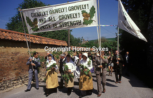 Grovely Forest Rights Great Wishford Wishford magna Wiltshire UK. May 29th annually.