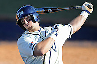 28 February 2010:  FIU's Mike Martinez (40) prepares to bat as the FIU Golden Panthers defeated the Oral Roberts Golden Eagles, 7-6 (10 innings), at University Park Stadium in Miami, Florida.