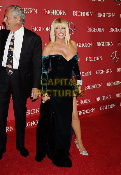 PALM SPRINGS, CA - JANUARY 02: Actress Suzanne Somers (R) and Alan Hamel attend the 27th Annual Palm Springs International Film Festival Awards Gala at Palm Springs Convention Center on January 2, 2016 in Palm Springs, California.<br /> CAP/ROT/TM<br /> &copy;TM/ROT/Capital Pictures
