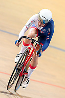 Picture by Alex Whitehead/SWpix.com - 02/03/2018 - Cycling - 2018 UCI Track Cycling World Championships, Day 3 - Omnisport, Apeldoorn, Netherlands - Great Britain's Elinor Barker wins the Tempo round of the Women's Omnium.