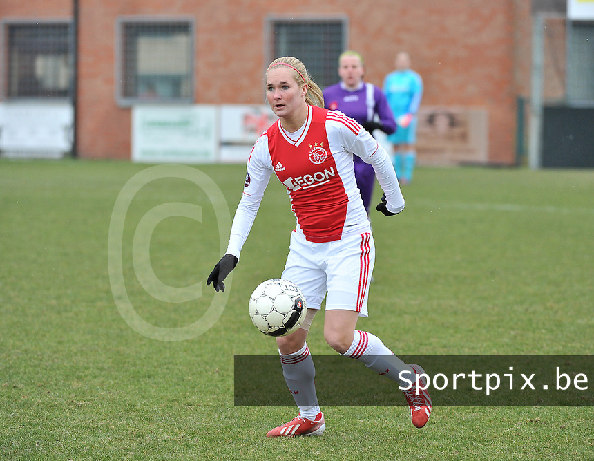 AJAX Amsterdam Dames : Desiree Van Lunteren.foto JOKE VUYLSTEKE / Vrouwenteam.be