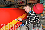 .TV STAR:   Dermot Walsh, a sailor and boat builder  from Valentia Island  is to feature in a new series on Setanta Sports.   Copyright Kerry's Eye 2008