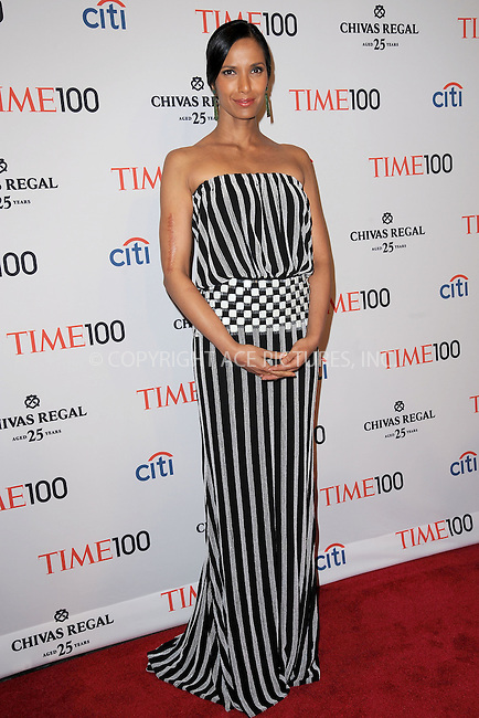 WWW.ACEPIXS.COM . . . . . .April 23, 2013...New York City.....Padma Lakshmi attends TIME 100 Gala, TIME'S 100 Most Influential People In The World at Jazz at Lincoln Center on April 23, 2013 in New York City ....Please byline: KRISTIN CALLAHAN - ACEPIXS.COM.. . . . . . ..Ace Pictures, Inc: ..tel: (212) 243 8787 or (646) 769 0430..e-mail: info@acepixs.com..web: http://www.acepixs.com .