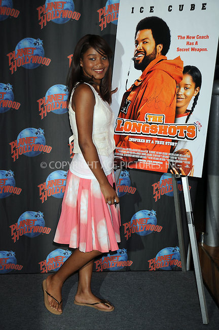 WWW.ACEPIXS.COM . . . . .....July 30, 2008. New York City.....Actress Keke Palmer appears at Planet Hollywood Times Square to promote her movie 'Longshot' on July 30, 2008 inn New York City...  ....Please byline: Kristin Callahan - ACEPIXS.COM..... *** ***..Ace Pictures, Inc:  ..Philip Vaughan (646) 769 0430..e-mail: info@acepixs.com..web: http://www.acepixs.com